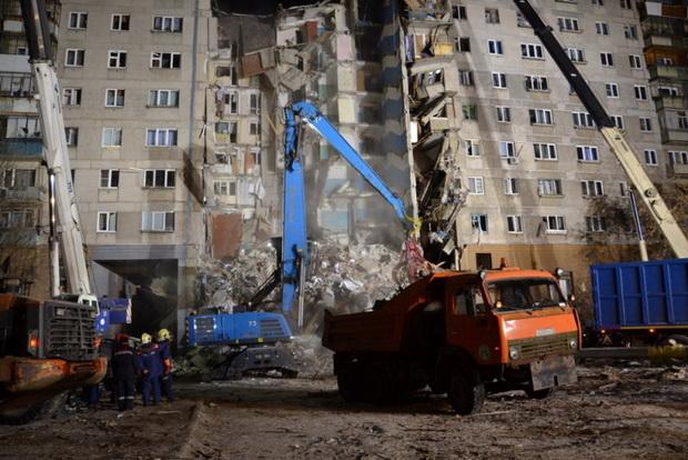 ยอดตายตึกรัสเซียถล่มพุ่ง21ศพ ความหวังเจอคนรอดเลือนรางเนื่องด้วยอุณหภูมิ-20องศา