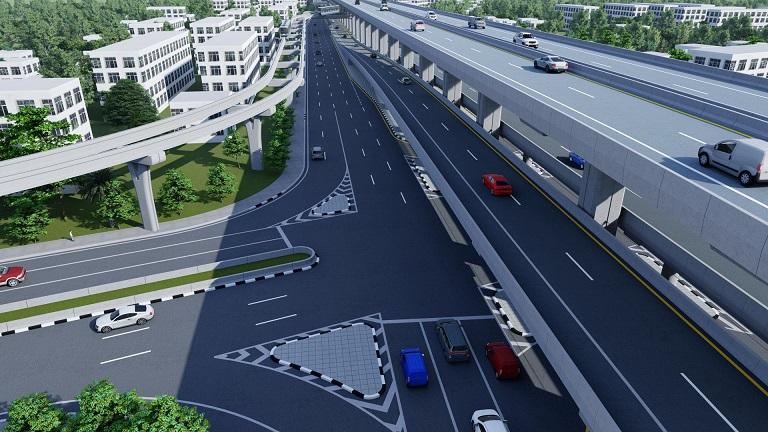 คจร.ไฟเขียวรถไฟฟ้าสีน้ำตาล เร่งสร้างพร้อมทางด่วน N2  เปิดปี67