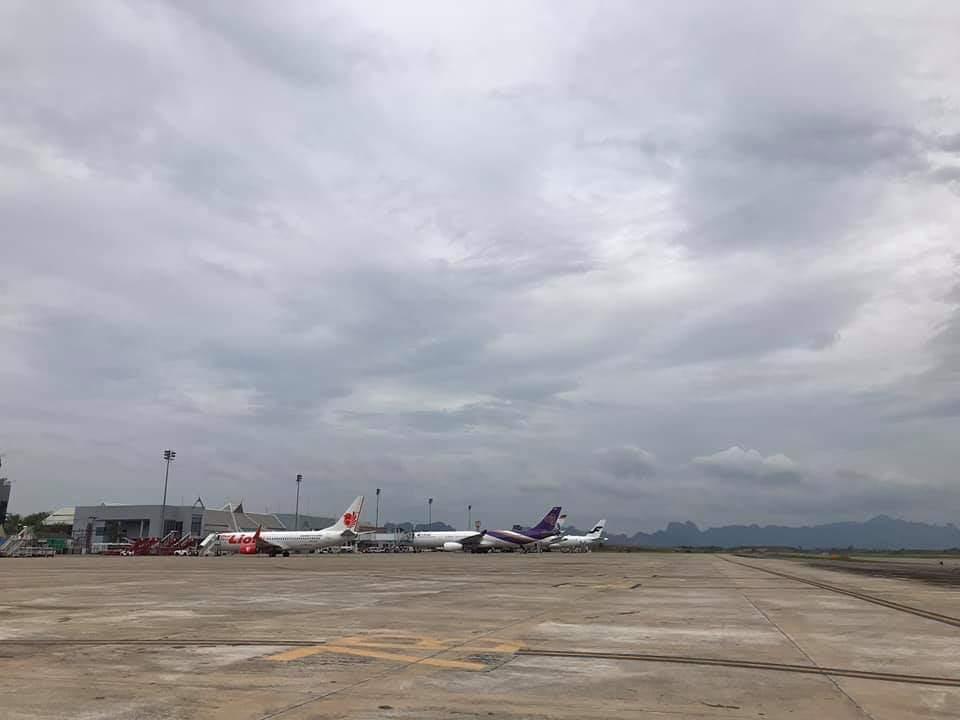 ปิดสนามบิน สุราษฎร์ธานี ตั้งแต่ 4 โมงเย็น วันนี้ (4 ม.ค. )