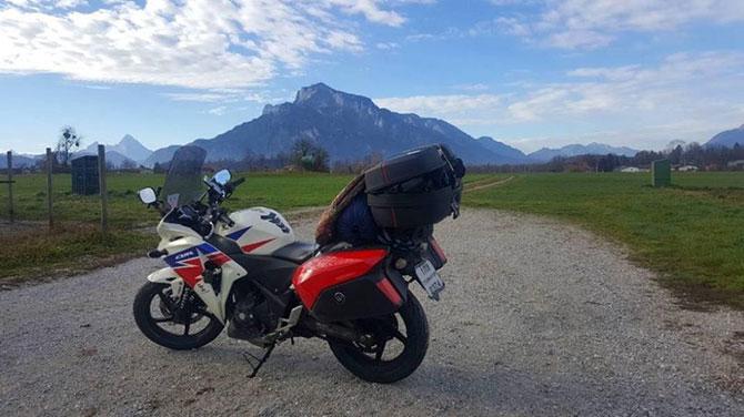 ระหว่างทางออสเตรีย