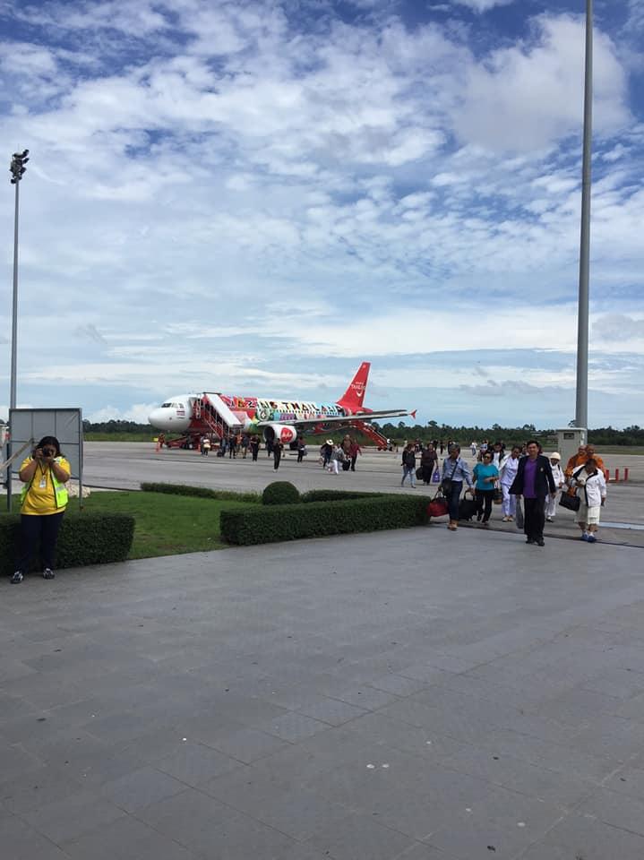 เคลียร์รันเวย์ รับเที่ยวบินแรก !สนามบินสุราษฎร์,นครศรี ผู้โดยสารคึกคัก