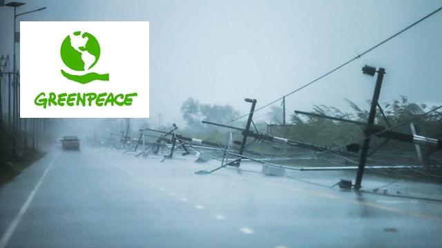 """""""กรีนพีซ ประเทศไทย"""" โพสต์ส่งกำลังใจผู้ประสบภัย """"ปาบึก"""" หลังพัดถล่มภาคใต้ พบ มีแนวโน้มเกิดพายุมากขึ้น"""