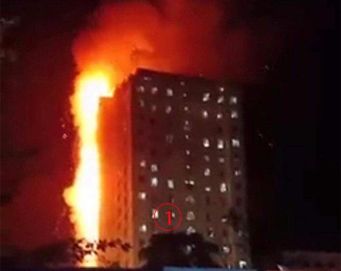 ไฟไหม้ตึก 18 ชั้นใกล้กาสิโนใหญ่ปอยเปต หามส่งโรงพยาบาลระนาวกลางดึก