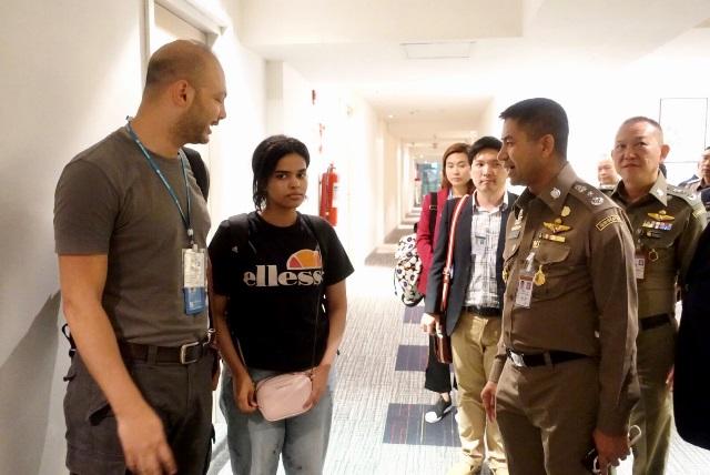 "UNHCR เผย เจ้าหน้าที่กำลังสัมภาษณ์ ""สาวซาอุฯ"" ก่อนส่งต่อประเทศที่สาม"