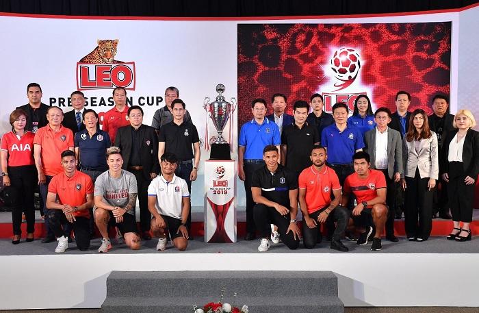 """12 ทีมไทย พร้อม 4 ยอดทีมอาเซียน โม่แข้ง """"ลีโอ ปรีซีซั่น 2019"""" ชิงเงินรวมกว่า 3 ล้านบาท"""