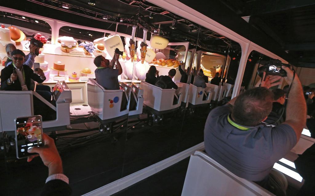 Google โชว์เทคโนโลยีผ่านรถไฟสไตล์ดิสนีย์ที่ CES 2019