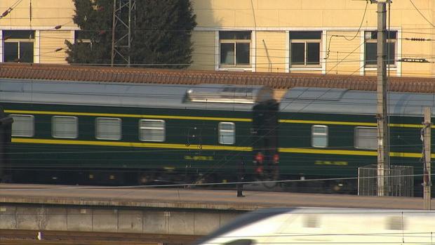 ขบวนรถไฟเคลื่อนตัวออกจากปักกิ่ง คิมน้อยเสร็จสิ้นการเยือนจีนครั้งลึกลับ