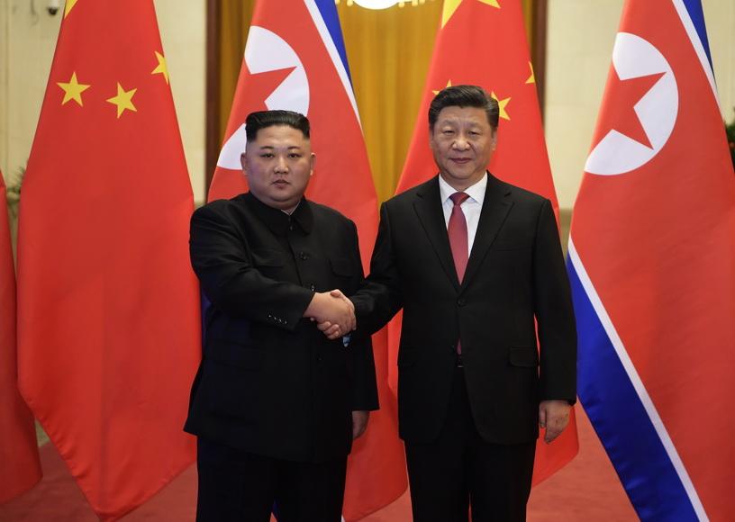 'สีจิ้นผิง' แนะสหรัฐฯ-เกาหลีเหนือ 'พบกันครึ่งทาง'