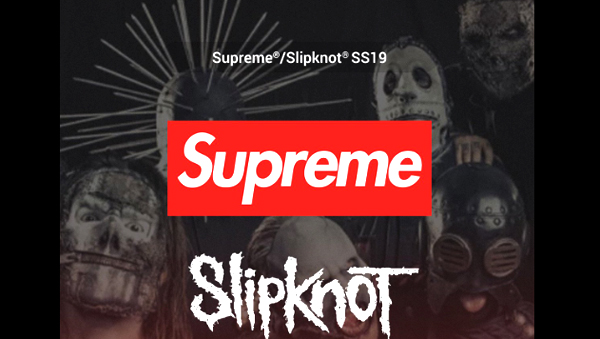 Supreme จับมือวงร็อคดัง Slipknot คลอดคอลเลคชันหน้าร้อนนี้