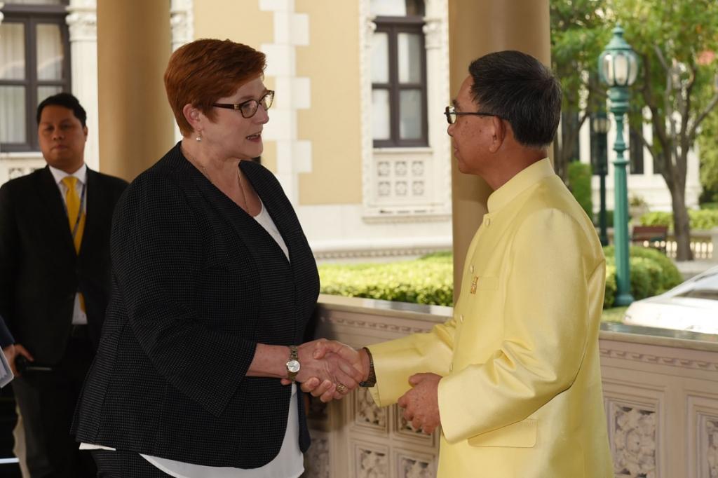 """""""บิ๊กจิน"""" เผย ออสเตรเลีย ยินดีไทยกำลังจะมีพระราชพิธีสำคัญ"""