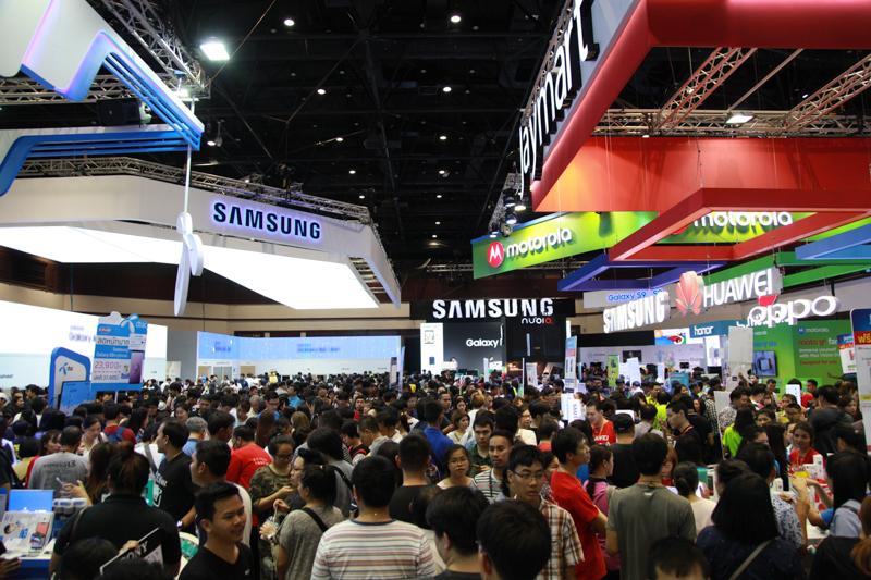 ขอเวลาปรับนโยบาย 'Samsung' ยังมีขายในไทยแลนด์ โมบาย เอ็กซ์โป ผ่านบูธดีลเลอร์