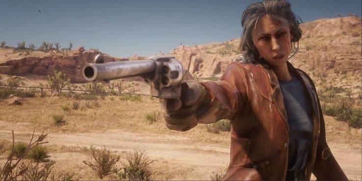 """ตามกระแส! """"Red Dead Online"""" เปิดศึกฉะเดือด 32 คาวบอย ในสงครามแบทเทิลรอยัล"""