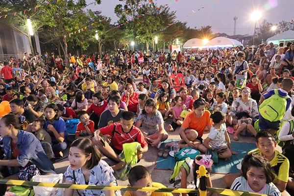 กลุ่มไทยออยล์ จัดกิจกรรมวันเด็กให้กับลูกหลาน และผู้ปกครอง  10   ชุมชน
