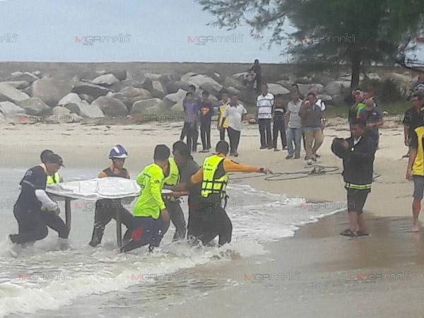พบแล้ว! ร่างเด็กชาย 6 ขวบหลังถูกคลื่นซัดจมทะเลดับที่หาดนราทัศน์