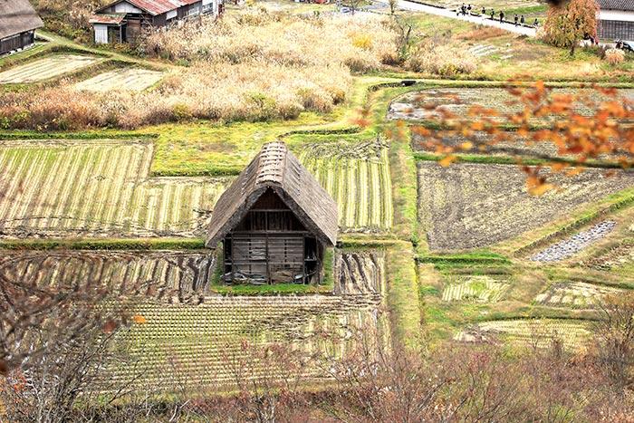 อาคารกลางนา กับสถาปัตยกรรมแบบกัสโซซึคุริ