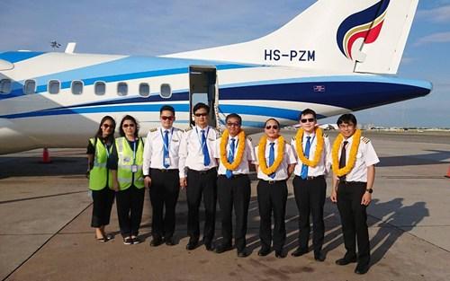 บางกอกแอร์เวย์สรับเครื่องบินแบบเอทีอาร์รุ่น 72 - 600 ลำใหม่
