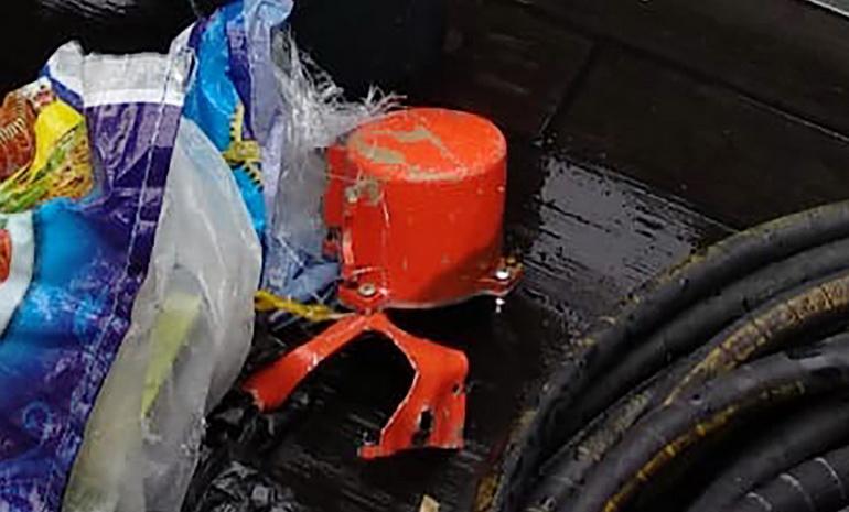 อิเหนาพบ 'กล่องดำใบที่สอง' ของเที่ยวบินมรณะ 'ไลอ้อนแอร์' หลังดิ่งทะเลนานกว่า 2 เดือน