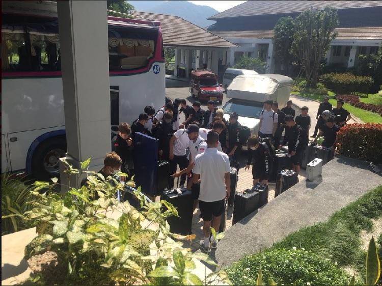 """""""คอนซาโดเล่"""" ยกทัพถึงเชียงใหม่ เตรียมอุ่นแข้งทีมไทย 3 นัด"""