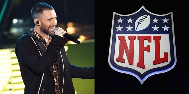 """แฟนบอลยี้ """"NFL"""" เลือก Maroon 5 ขึ้นเวทีซูเปอร์โบว์ล"""