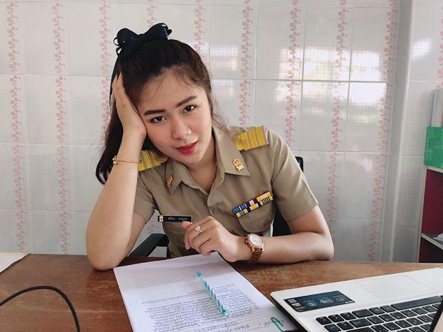 ครูแพร เอกนาฏศิลป์ โรงเรียนวัดช้างข้าม จ.จันทบุรี