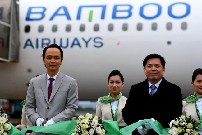 """""""แบมบูแอร์เวย์ส"""" สายการบินน้องใหม่เวียดนามขึ้นบินเที่ยวปฐมฤกษ์ ตั้งเป้าขยายฝูงบินสิ้นปีนี้ 50 ลำ"""