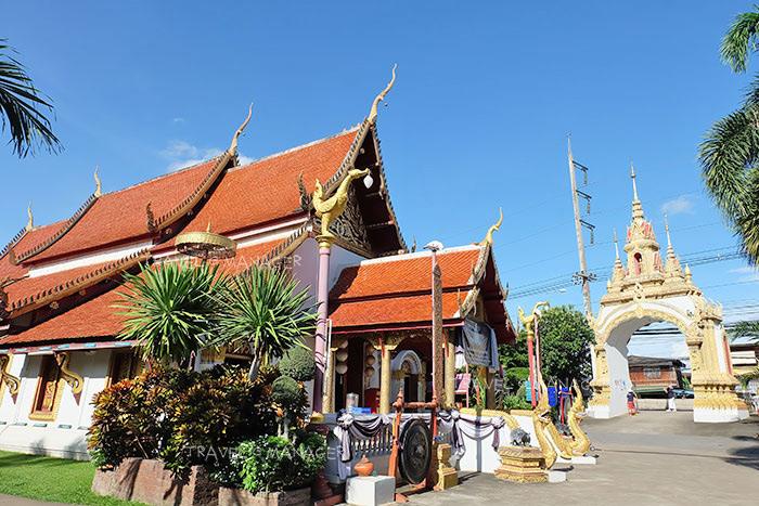 """วัดสูงเม่น อ.สูงเม่น จ.แพร่ สถานที่จัดงาน""""ตากธัมม์ ตานข้าวใหม่ หิงไฟพระเจ้า"""" หนึ่งเดียวในไทย"""
