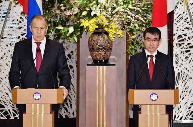 """ลาฟรอฟชี้ """"รัสเซีย-ญี่ปุ่น"""" ยังห่างไกลจากการเป็นหุ้นส่วน"""