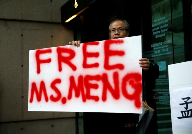 สหรัฐฯ,แคนาดาสัญญาไม่ลำเลึยงคดีลูกสาว'หัวเว่ย' โวยจีนจับตัวพลเมืองโดยพลการ