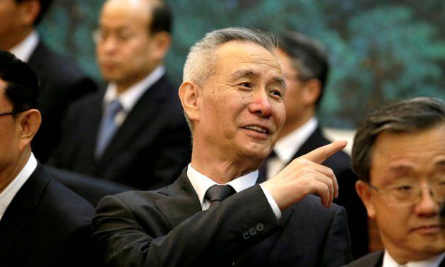 <i>รองนายกรัฐมนตรีหลิว เหอ ของจีน หนึ่งในบุคคลวงในของประธานาธิบดีสี จิ้นผิง </i>