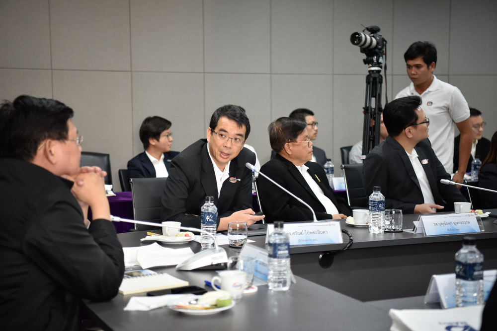 ดร. ศรัณย์ โปษยะจินดา รายงานความคืบหน้าโครงการภาคีฯ อวกาศไทย