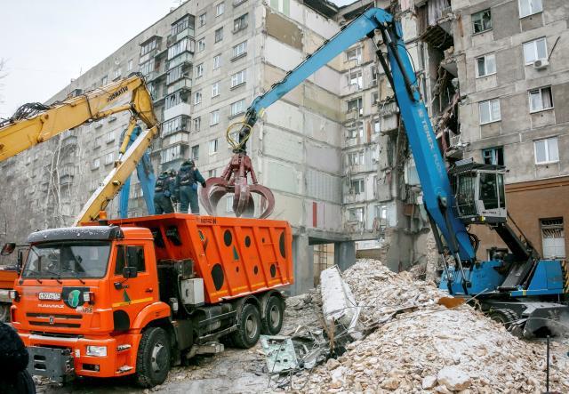 รัสเซียปฏิเสธคำกล่าวอ้างของกลุ่มไอเอส กรณีอพาร์ทเมนท์ระเบิดพังถล่ม