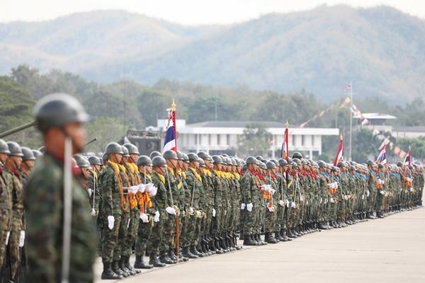 กองทัพเรือ กระทำสัตย์ปฏิญาณตนต่อธงชัยเฉลิมพล เนื่องในวันกองทัพไทย