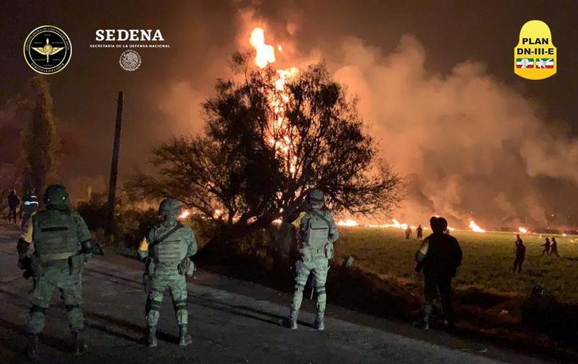 In Clip: สยอง! ท่อส่งน้ำมันระเบิดในเม็กซิโก ย่างสดตาย 20 ศพ-เจ็บครึ่งร้อย