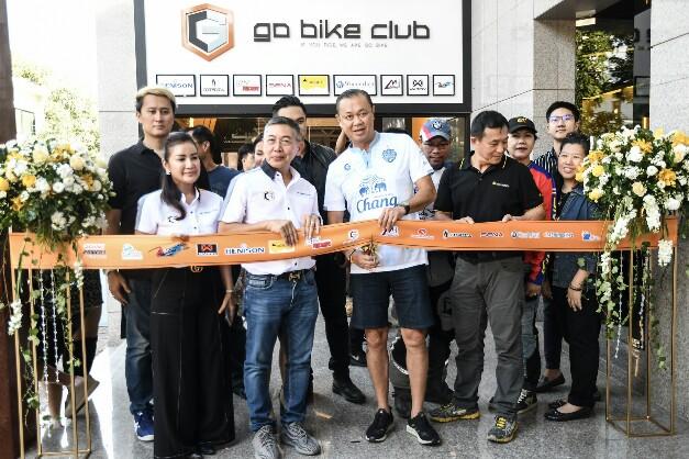 """""""เนวิน"""" เป็นประธานเปิด """"Go Bike Club"""" ศูนย์จำหน่ายสินค้าบิ๊กไบค์ระดับโลก"""