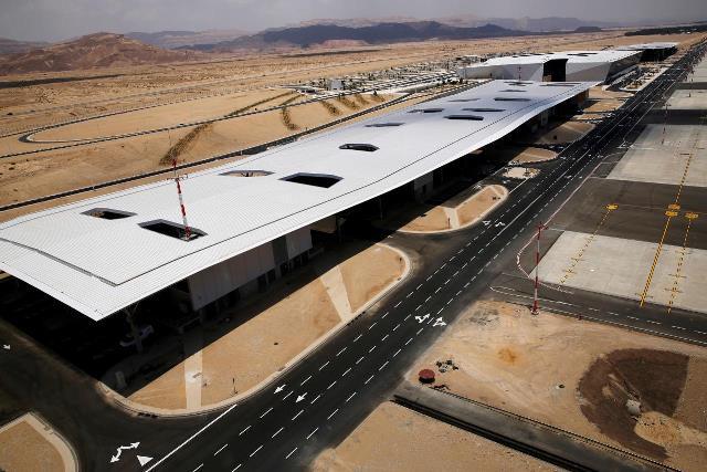 """อิสราเอลเตรียมเปิด """"สนามบินนานาชาติ"""" แห่งใหม่ใกล้ทะเลแดง"""