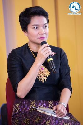 นางสาวศิริวรรณ สีหาราช ผู้อำนวยการการท่องเที่ยวแห่งประเทศไทย(ททท) สำนักงานขอนแก่น