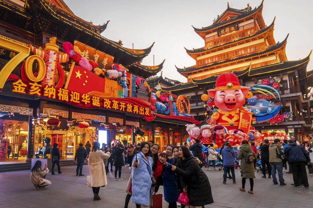 เศรษฐกิจจีนเติบโตอัตราต่ำสุดรอบ28ปี  ปัญหาดีมานด์ภายใน-สงครามการค้า