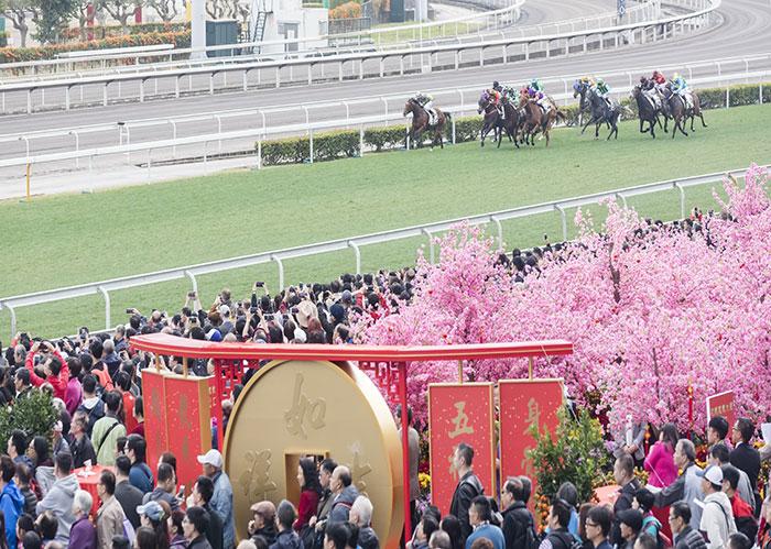 การแข่งขันม้าแข่งฉลองวันขึ้นปีใหม่จีน