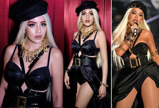 """ไม่ธรรมดา """"ใบเตย อาร์สยาม"""" เปลี่ยนลุคเป็นสาวอินเตอร์คัฟเวอร์เป็น Rita Ora"""