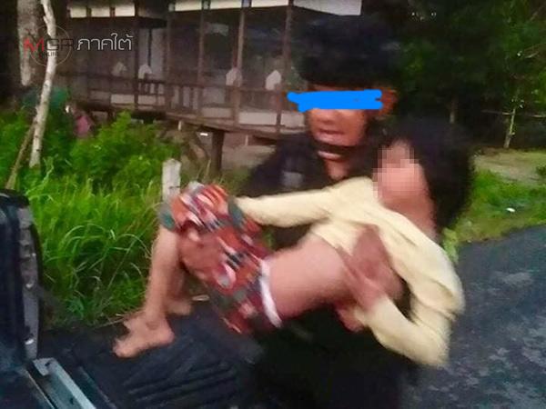 ยายของเด็กหญิง 8 ขวบ เหยื่อคมกระสุนปริศนาระหว่างยิงปะทะ วอนขอคุณตาคืนให้หลานหลังถูกทหารคุมตัว
