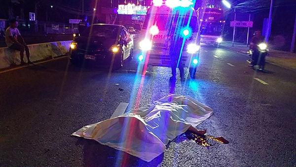 สุดสลด..คุณยายวัย 73 ปีถูกรถชนดับหน้า รพ.ชลบุรี ช่วงเช้ามืดที่ผ่านมา