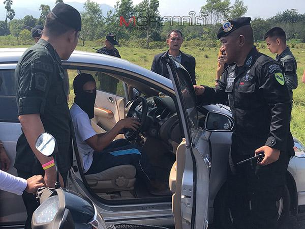 จนท.นำตัวโจรใต้ทำแผนฆ่าหญิงไทยพุทธที่ปัตตานี สารภาพสิ้นมีหน้าที่ตรวจเป้าหมาย