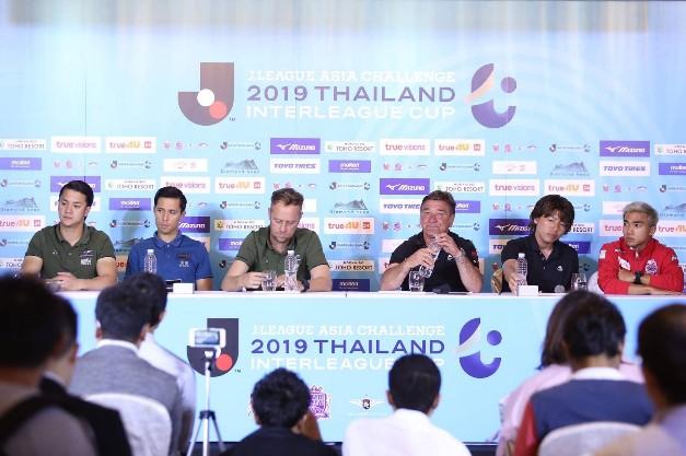 """""""ชนาธิป"""" นำทัพ 4 ทีมไทย-ญี่ปุ่น ดวลเจลีก เอเชีย ชาลเลนจ์"""