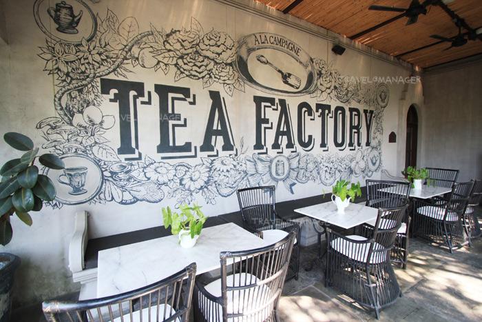 """Tea Factory & More"" ตั้งอยู่ภายใน A La Campagne"