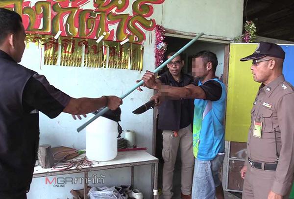 คุมตัวมือยิงหนุ่มหวงมังคุดชาวบ้านเกินเหตุทำแผน เผยต้องป้องกันตัวกลัวถูกฟันตาย