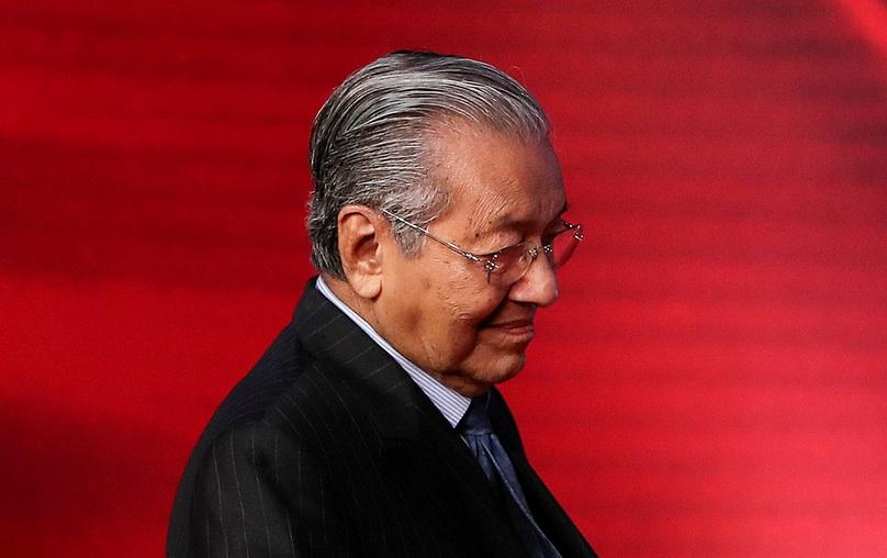 นายกรัฐมนตรี มหาเธร์ โมฮาหมัด แห่งมาเลเซีย