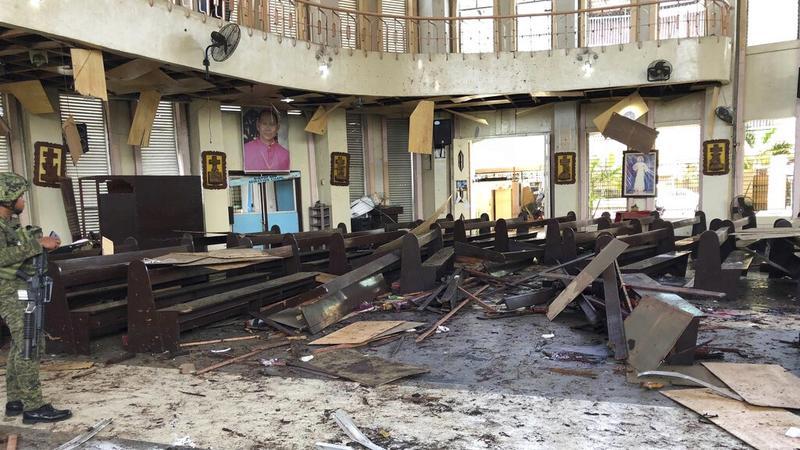 ระเบิดโบสถ์สองลูกซ้อนดับ 20 บาดเจ็บ 81 คาดฝีมืออาบูไซยาฟ-ฟิลิปปินส์ขู่ล้างบาง