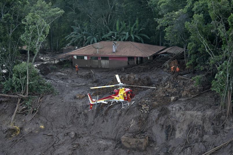 ยอดเหยื่อ 'เขื่อนแตก' ในบราซิลพุ่ง 58 ศพ ยังสูญหายอีกกว่า 300 คน