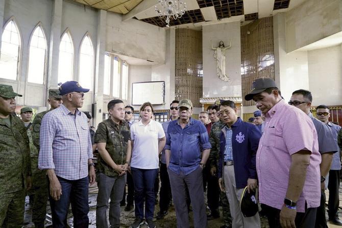 ไอเอสอ้างบึ้มโบสถ์คริสต์ฟิลิปปินส์ ผู้เชี่ยวชาญหวั่นกระทบแผนสันติภาพ