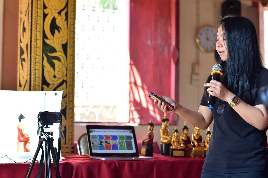 ทีมวิจัยเทคเทคสาธิตระบบบริหารจัดการข้อมูลวัฒนธรรม e-museum และ museum pool